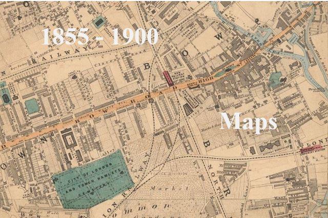 Map Of London 1900.1855 1900 Maps Mornington Grove London E3